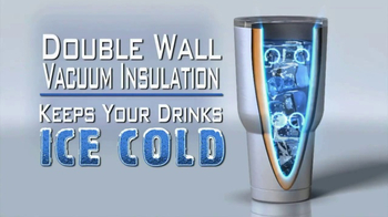 Rocky Mountain Tumbler TV Spot, 'Keeps Your Drinks Cold' - Thumbnail 5