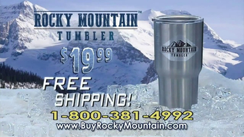 Rocky Mountain Tumbler TV Spot, 'Keeps Your Drinks Cold' - Thumbnail 9