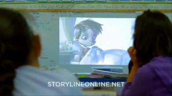 Storyline Online TV Spot, 'Love of Reading' Featuring Eva Longoria - Thumbnail 4