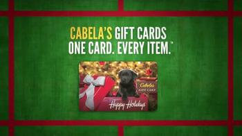 Cabela's Christmas Sale TV Spot, 'Gift Cards' - Thumbnail 6