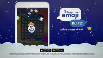 Disney Emoji Blitz! TV Spot, 'Holiday Messages' - Thumbnail 4