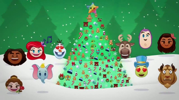 Disney Emoji Blitz! TV Spot, 'Holiday Messages'
