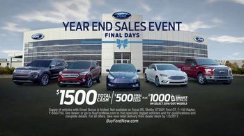 Ford Year End Sales Event TV Spot, 'Final Days'