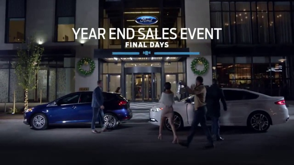 ford year  sales event tv commercial final days ispottv