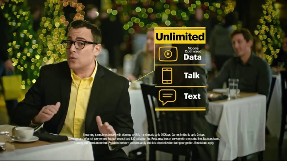 Sprint TV Commercial, 'Crazy Unlimited Plan With iPhone'