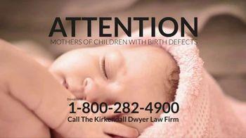 Kirkendall Dwyer LLP TV Spot, 'Birth Defects'