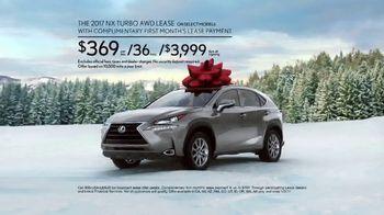 Lexus December to Remember Event TV Spot, 'Santa's Lap: 2017 NX Turbo'