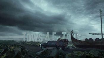 Ram Trucks TV Spot, 'Vikings Boat Tow' [T1]