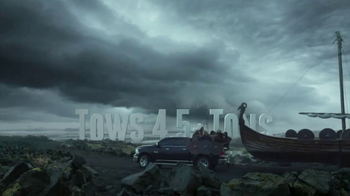 Ram Trucks TV Spot, 'Vikings Boat Tow'