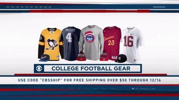 CBS Sports Shop TV Spot, 'College & Pro Football Gear'