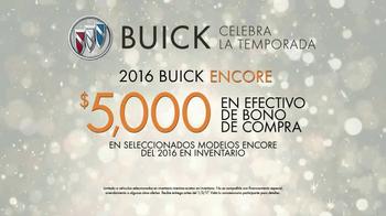 Buick Celebra la Temporada TV Spot, '2016 Encore' [Spanish] - Thumbnail 8