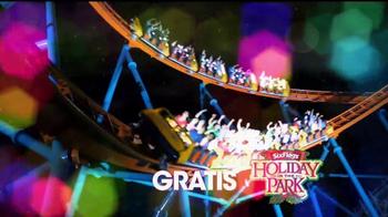 Six Flags Holiday in the Park TV Spot, 'Mundo navideño' [Spanish] - Thumbnail 6