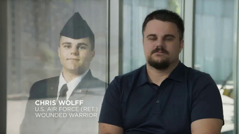 Wounded Warrior Project TV Spot, 'I Am Living Proof: Chris Wolff' - Thumbnail 3