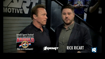 Ricart Automotive Group TV Spot, 'Number One' Feat. Arnold Schwarzenegger - 2 commercial airings