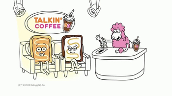 Pop-Tarts TV Spot, 'Dunkin' Donuts: Talkin' Coffee'