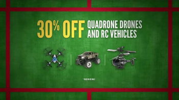 Cabela's Christmas Sale TV Spot, 'Slippers, Drones and RC Vehicles' - Thumbnail 6