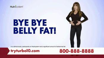 Nutrisystem Turbo 10 TV Spot, 'Tummy: Tracker' Featuring Marie Osmond