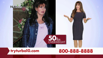 Nutrisystem Turbo 10 TV Spot, 'Tummy: Tracker' Featuring Marie Osmond - Thumbnail 1