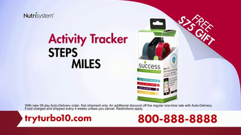 Nutrisystem Turbo 10 TV Spot, 'Tummy: Tracker' Featuring Marie Osmond - Thumbnail 6