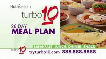 Nutrisystem Turbo 10 TV Spot, 'Lifestyle' - Thumbnail 4