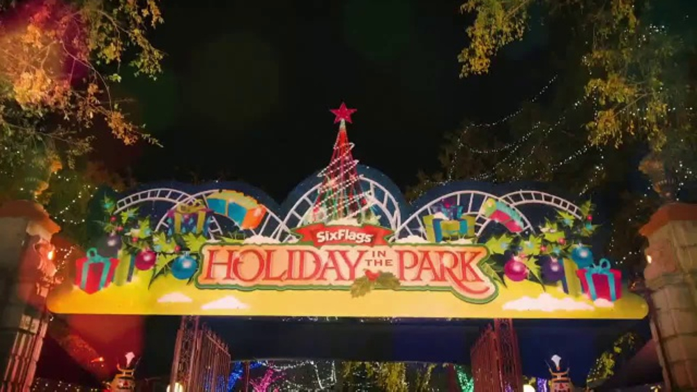 six flags holiday in the park tv commercial spectacular ispottv