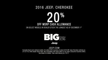 Jeep Big Finish Event TV Spot, '2016 Cherokee' Featuring Richard Sherman - Thumbnail 9