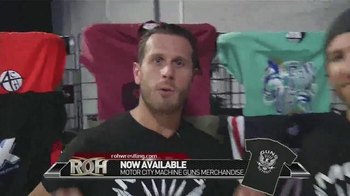 ROH Wrestling TV Spot, 'Motor City Machine Guns Merchandise' - Thumbnail 6