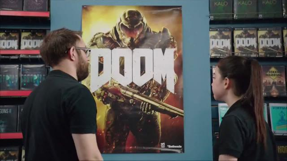 GameStop TV Commercial, 'DOOM: Hole in the Wall'