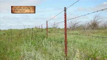 Whitetail Properties TV Spot, 'Multi-Purpose Oklahoma Hunting Property'