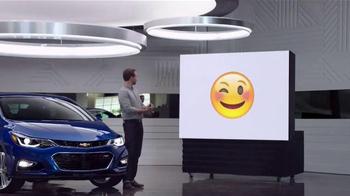 2016 Chevrolet Cruze TV Spot, 'Emojis' - Thumbnail 5
