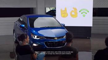 2016 Chevrolet Cruze TV Spot, 'Emojis' - Thumbnail 7