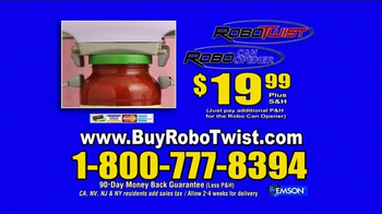 Robo Twist TV Spot, 'Twists Off Tough Jar Lids' - Thumbnail 10