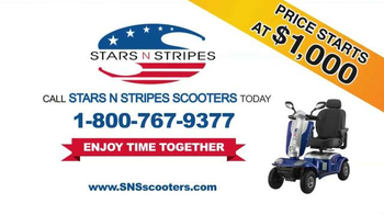 Stars N Stripes Scooters TV Spot, 'Enjoy Time Together' - Thumbnail 9