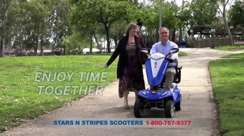 Stars N Stripes Scooters TV Spot, 'Enjoy Time Together' - Thumbnail 2