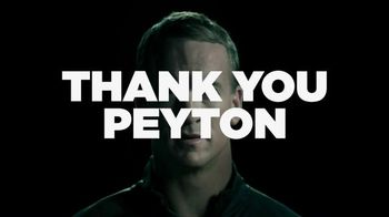 Nationwide Insurance TV Spot, 'Thank You' Featuring Peyton Manning - 18 commercial airings