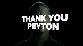 Nationwide Insurance TV Spot, 'Thank You' Featuring Peyton Manning - Thumbnail 1
