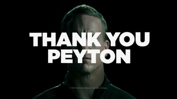 Nationwide Insurance TV Spot, 'Thank You' Featuring Peyton Manning - Thumbnail 2