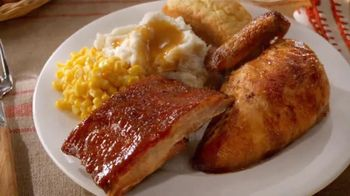 Boston Market BBQ Ribs & Chicken Meal TV Spot, 'Take Home a Real Meal'