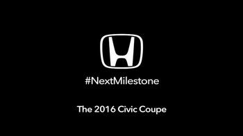 2016 Honda Civic TV Spot, 'Another Milestone' - Thumbnail 5
