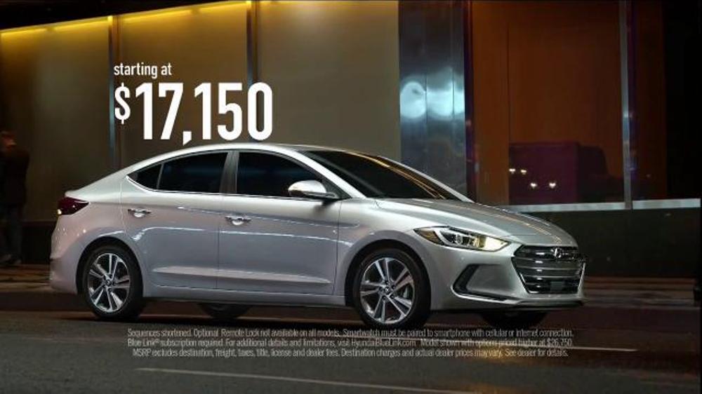 2017 Hyundai Elantra TV Commercial, 'Not Just New, Better ...