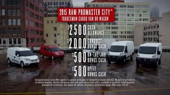Ram Commercial Van Season TV Spot, '2015 ProMaster City' - Thumbnail 10