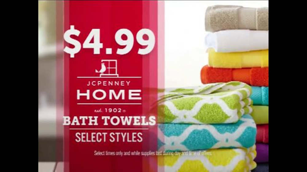 JCPenney TV Commercial, \'Doorbusters: Tees, Bath Towels and Shorts ...