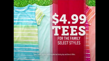 JCPenney TV Spot, 'Doorbusters: Tees, Bath Towels and Shorts' - Thumbnail 2