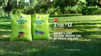 The Home Depot TV Spot, 'Evolving Gardens: Organic Soil' - Thumbnail 7