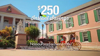 Nassau Paradise Island TV Spot, 'Spring or Summer Vacation' - Thumbnail 2
