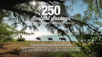 Nassau Paradise Island TV Spot, 'Spring or Summer Vacation' - Thumbnail 9