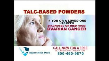Injury Help Desk TV Spot, 'Talcum Based Powders' - Thumbnail 3