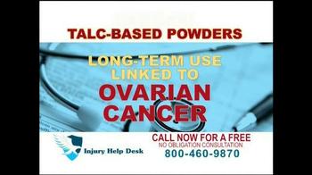 Injury Help Desk TV Spot, 'Talcum Based Powders' - Thumbnail 5