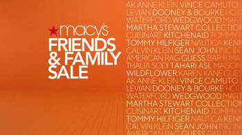 Macy's Friends & Family Sale TV Spot, 'Top Brands' - Thumbnail 9