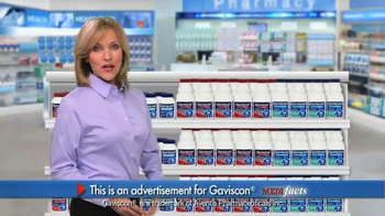 Gaviscon TV Spot, 'MediFacts: Fast Acting'